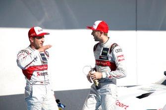 Mike Rockenfeller, Audi Sport Team Phoenix and René Rast, Audi Sport Team Rosberg