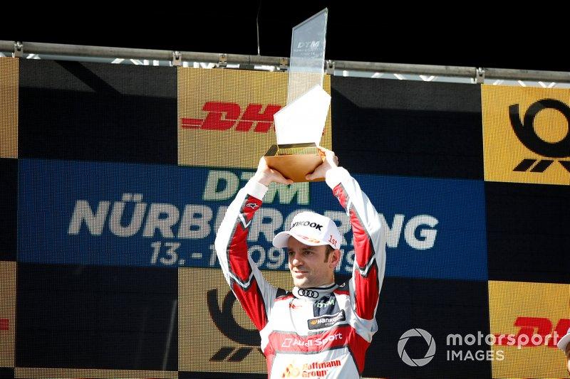 Podyum: Yarış galibi Jamie Green, Audi Sport Team Rosberg