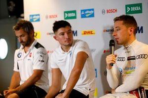 Timo Glock, BMW Team RMG, Jake Dennis, R-Motorsport, Robin Frijns, Audi Sport Team Abt Sportsline