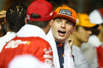 Max Verstappen, Red Bull Racing, jokes with Charles Leclerc, Ferrari