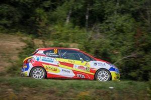 Efren Llarena, Sara Fernandez, Peugeot 208 R2, Rally di Roma Capitale, FIA ERC