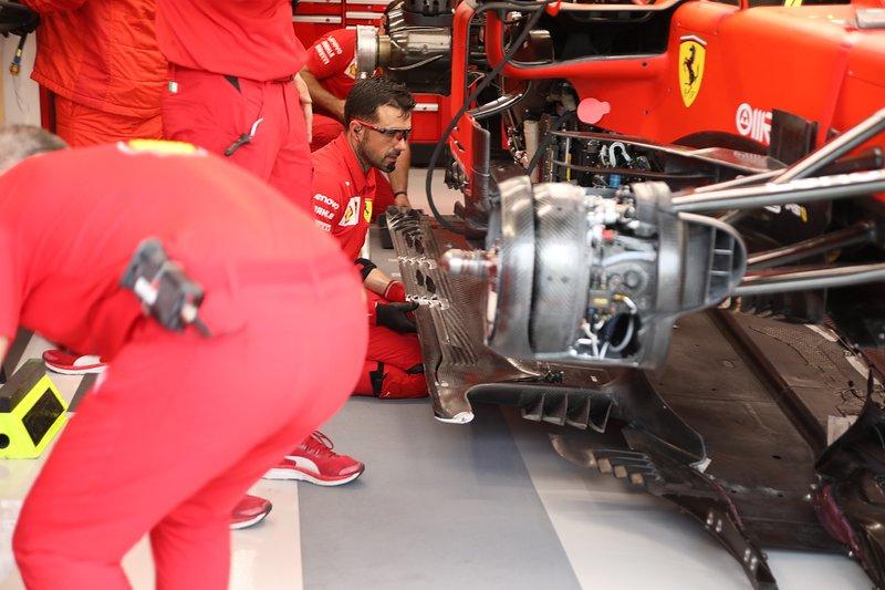 Ferrari SF90, dettaglio del fondo