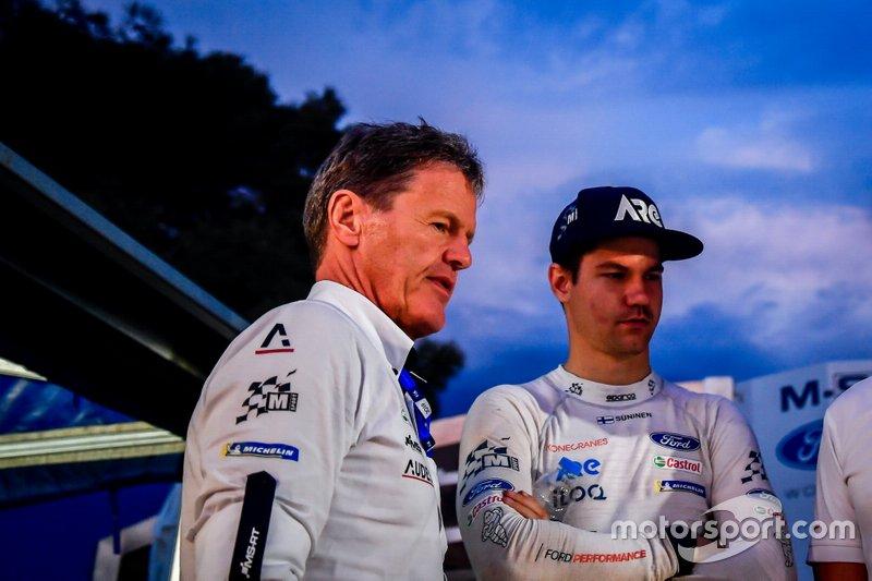 Malcolm Wilson, M-Sport takım patronu, Teemu Suninen, M-Sport Ford WRT
