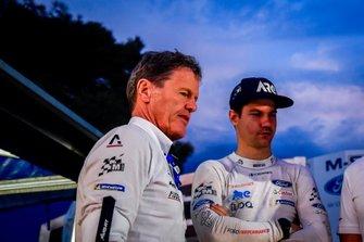 Malcolm Wilson, directeur de M-Sport, Teemu Suninen, M-Sport Ford WRT