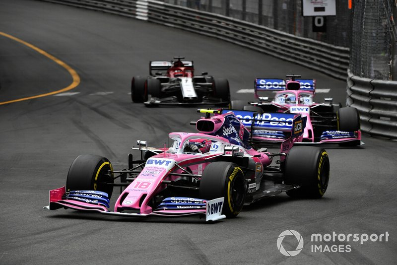 Raikkonen has another moment with Stroll in the race