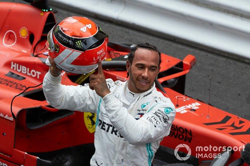 Monako: Lewis Hamilton, Mercedes AMG