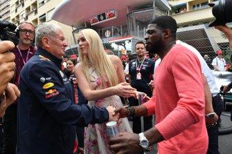 Спортивный консультант Red Bull Хельмут Марко и гости