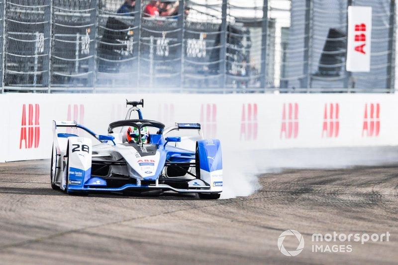 Antonio Felix da Costa, BMW I Andretti Motorsports, BMW iFE.18, bloquea