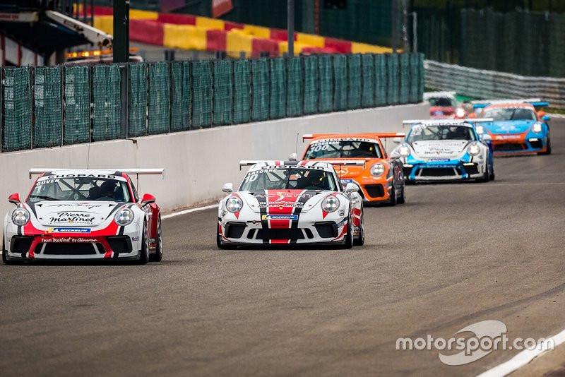 Start, Florian Latorre, Porsche 911 GT3, RMS ve Ayhancan Güven, Porsche 911 GT3, Pierre Martinet by Almeras