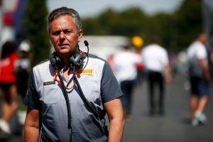 Mario Isola, directeur de la compétition de Pirelli Motorsport