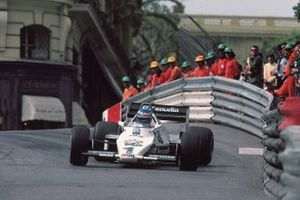 Кеке Росберг, Williams FW08C Ford