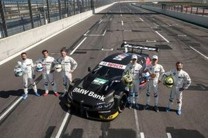 Philipp Eng, BMW Team RBM, Bruno Spengler, BMW Team RMG, Marco Wittmann, BMW Team RMG, Joel Eriksson, BMW Team RBM, Shelton van der Linde, BMW Team RBM, Timo Glock, BMW Team RMG