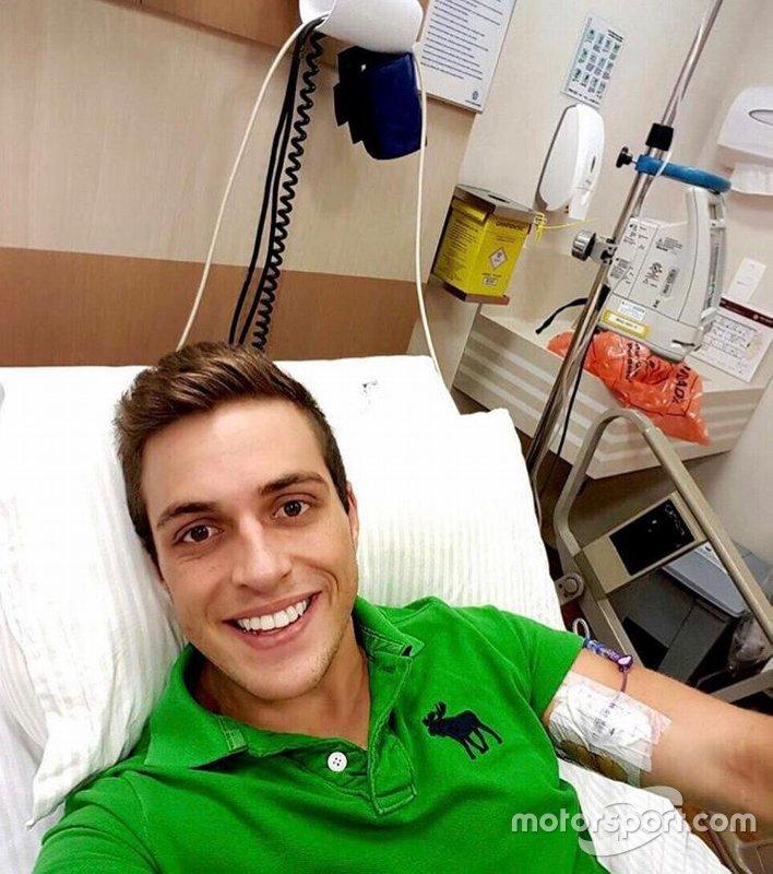 Pedro Rehn durante tratamento