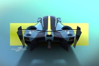 Motorsport Network Aston Martin Valyrie hypercar rendering