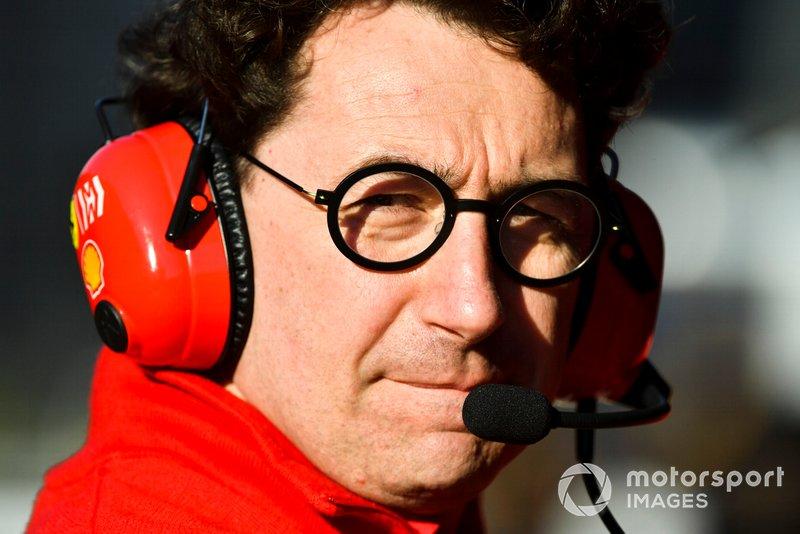 Mattia Binotto, Team Principal Ferrari