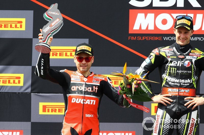 Podio: Alvaro Bautista, Aruba.it Racing-Ducati Team