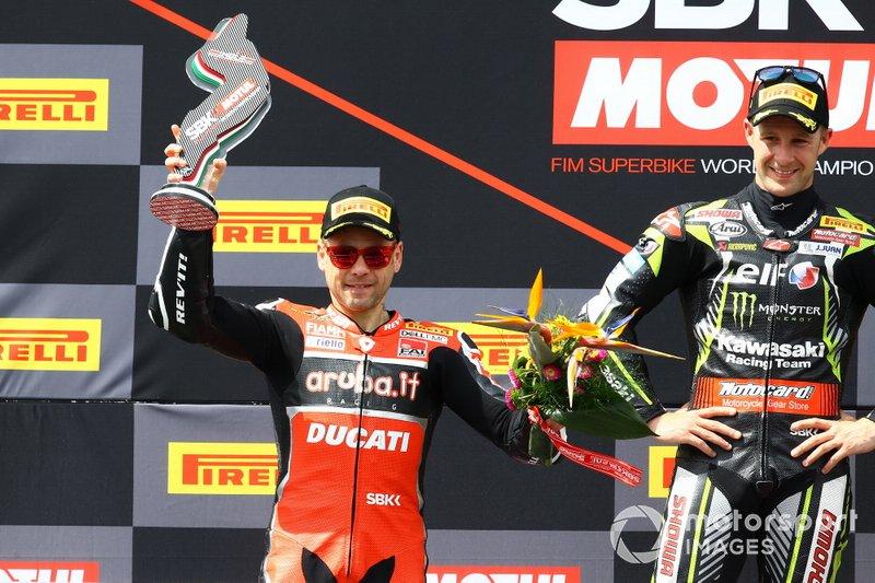 Podio: Alvaro Bautista, Aruba.it Racing-Ducati Team