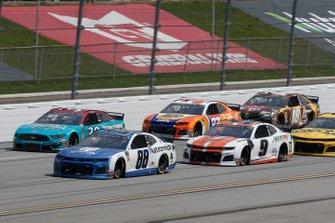 Alex Bowman, Hendrick Motorsports, Chevrolet Camaro Nationwide Chase Elliott, Hendrick Motorsports, Chevrolet Camaro Mountain Dew / Little Caesar's