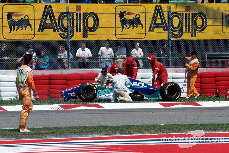 Rubens Barrichello, Jordan kaza sonrası