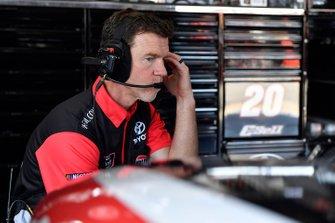 Christopher Bell, Joe Gibbs Racing, Toyota Supra Rheem-Johns Mansville Jason Ratcliff