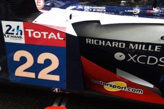 Автомобиль Ligier JSP217 Gibson (№22) команды United Autosports