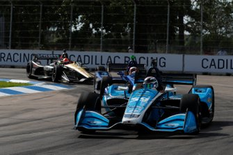 Max Chilton, Carlin Chevrolet, Patricio O'Ward Carlin Chevrolet, James Hinchcliffe, Arrow Schmidt Peterson Motorsports Honda