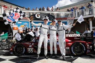 Race Winner #55 Mazda Team Joest Mazda DPi, DPi: Jonathan Bomarito, Harry Tincknell, Olivier Pla