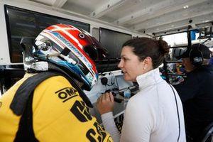 #57 Heinricher Racing w/Meyer Shank Racing Acura NSX GT3, GTD: Christina Nielsen, Katherine Legge
