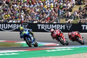 Joan Mir, Team Suzuki MotoGP, Andrea Dovizioso, Ducati, Danilo Petrucci, Ducati Team