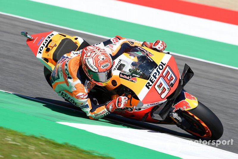 """2019: Marc Marquez (Honda) 1'45""""519"""