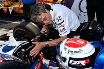Graham Rahal, Rahal Letterman Lanigan Racing Honda, Ricardo Nault