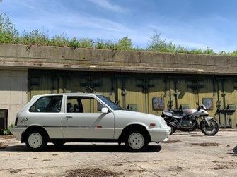 De eerste Suzuki Swift en de Suzuki Katana GSX1100S