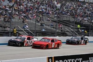 Garrett Smithley, JD Motorsports, Chevrolet Camaro teamjdmotorsports.com and David Starr, Means Motorsports, Chevrolet Camaro ATS
