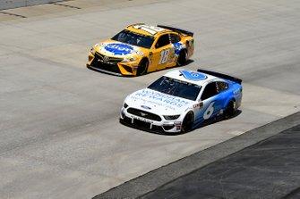 Ryan Newman, Roush Fenway Racing, Ford Mustang Wyndham Rewards, Kyle Busch, Joe Gibbs Racing, Toyota Camry Pedigree