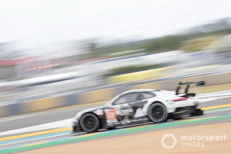 #88 Dempsey-Proton Racing, Porsche 911 RSR: Satoshi Hoshino, Giorgio Roda, Matteo Cairoli