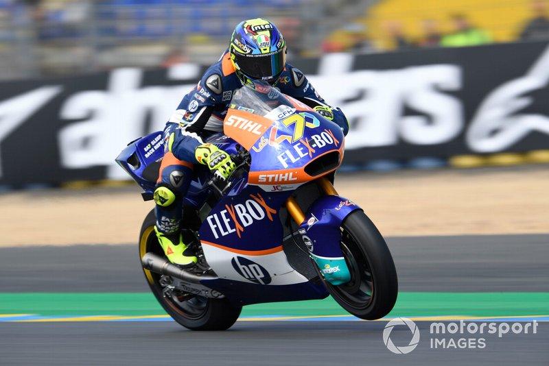 Lorenzo Baldassarri, Pons HP40, French Moto2 2019