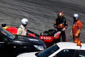 Dan Ticktum, Red Bull Racing RB15 stopped on track