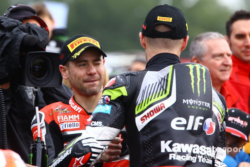Alvaro Bautista, Aruba.it Racing-Ducati Team, Jonathan Rea, Kawasaki Racing Team, World SBK
