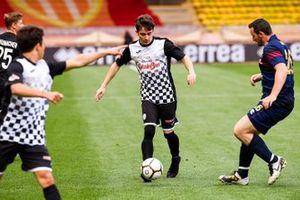 Charles Leclerc, Ferrari plays football