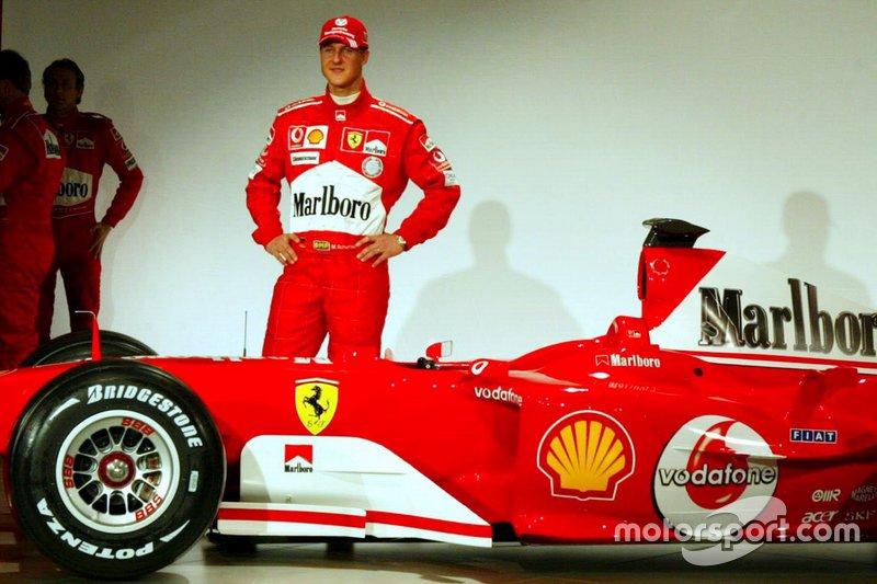 مايكل شوماخر، سيارة فيراري 2004 الجديدة