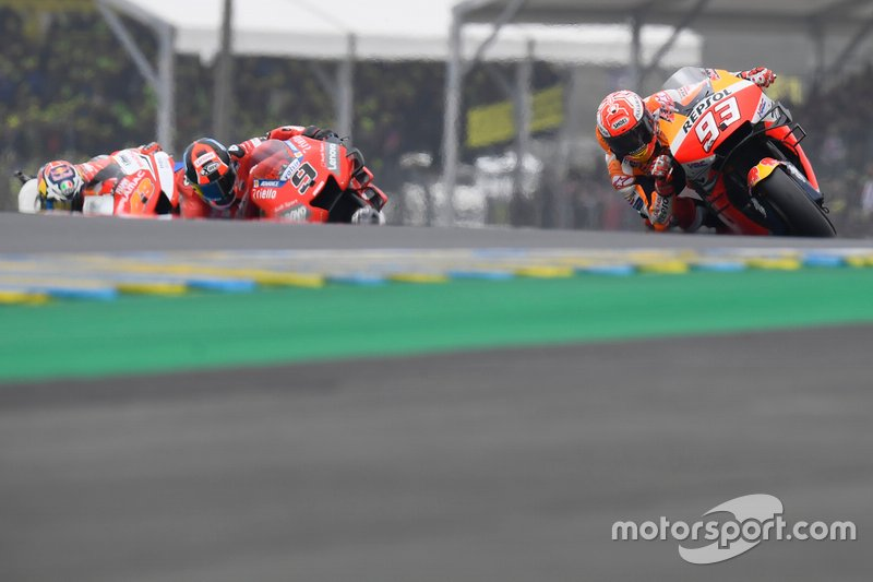 Marc Márquez, Repsol Honda Team, Danilo Petrucci, Ducati Team