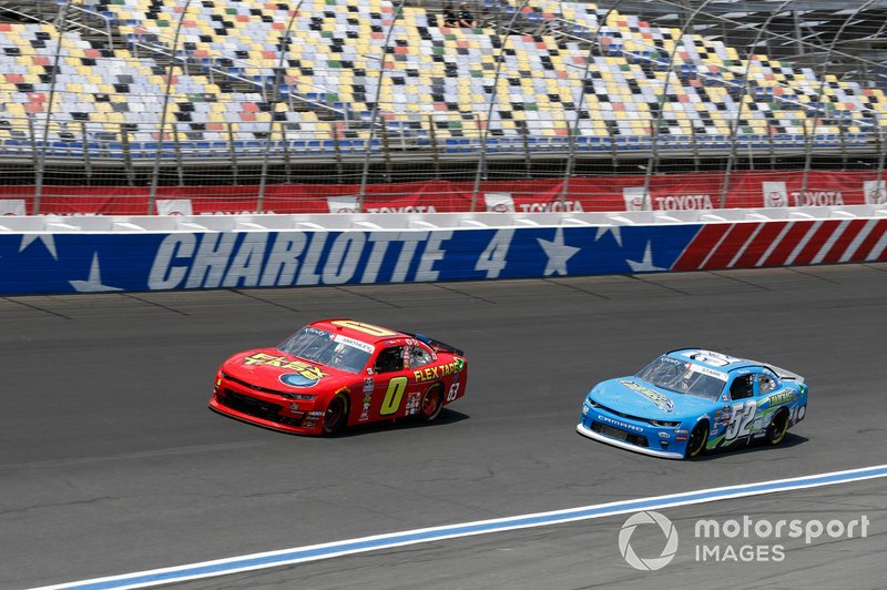 Garrett Smithley, JD Motorsports, Chevrolet Camaro Flex Tape David Starr, Means Motorsports, Chevrolet Camaro LOADCHASE.COM