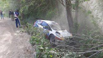 Авария: Артур Мурадян и Павел Челебаев, Ford Fiesta R5