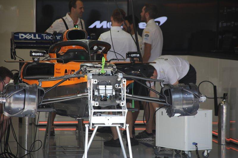 McLaren MCL34: Vorderradaufhängung