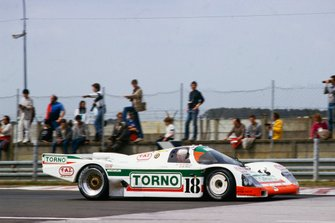 Massimo Sigala, Frank Jelinski, Walter Brun, Porsche 962C