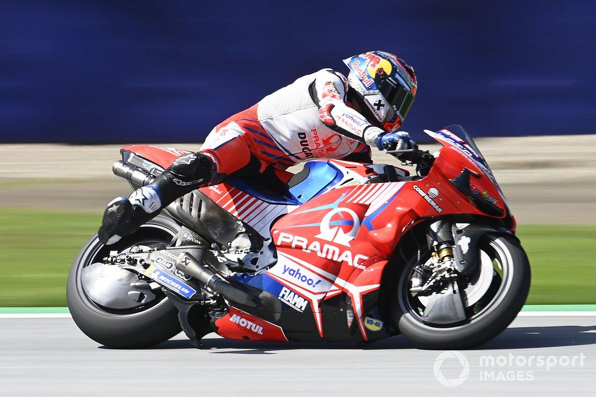 Jorge Martin, Pramac Racing, Braking