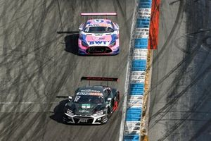 Kelvin van der Linde, Abt Sportsline Audi R8 LMS GT3, Maximilian Götz, Haupt Racing Team Mercedes AMG GT3