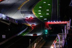 Aspectos de carrera de noche
