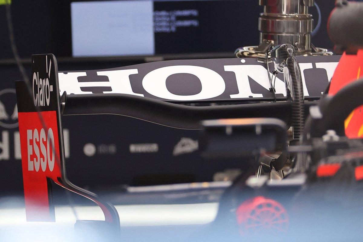 Red Bull RB16B: Heckflügel