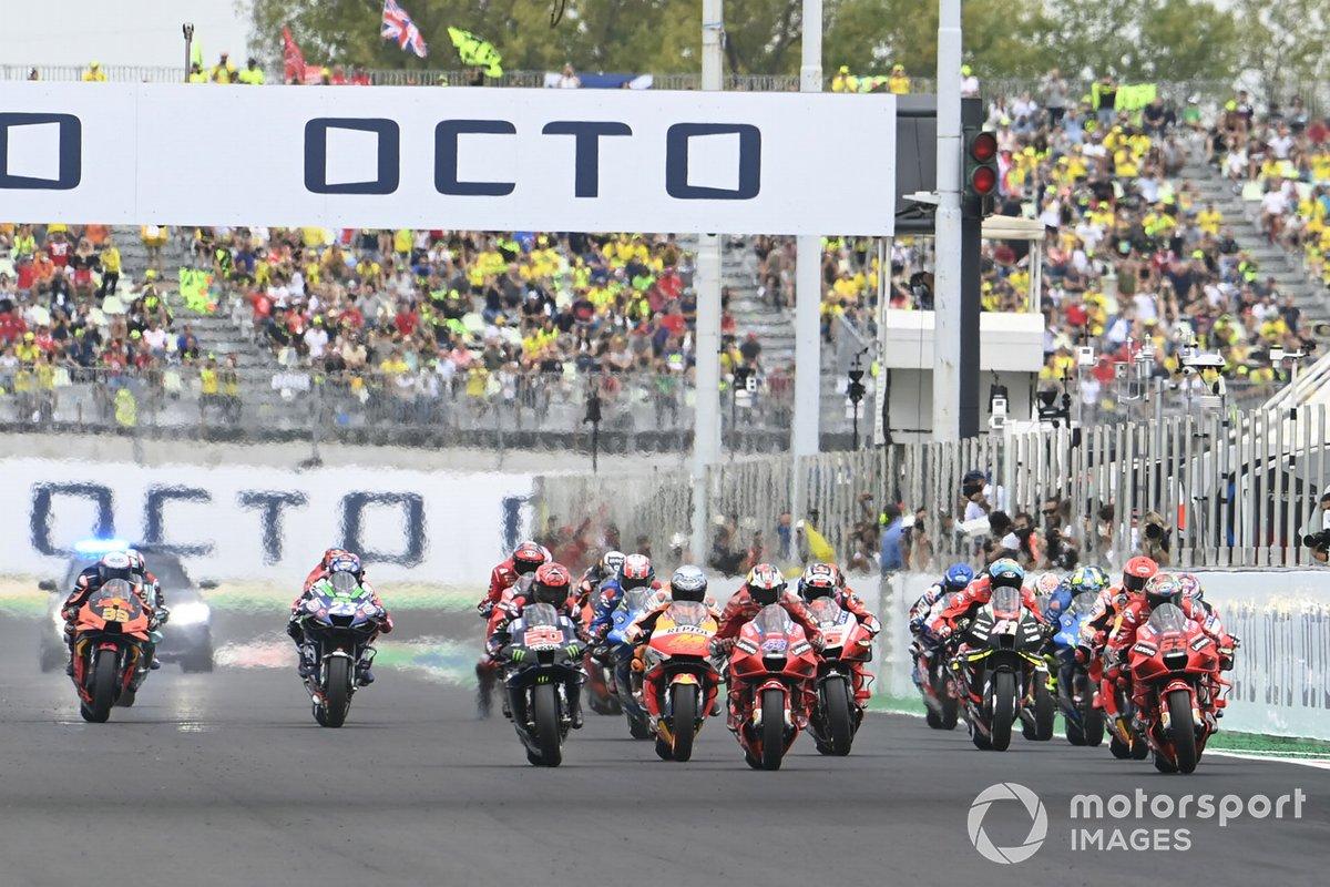 Francesco Bagnaia, Ducati Team race start